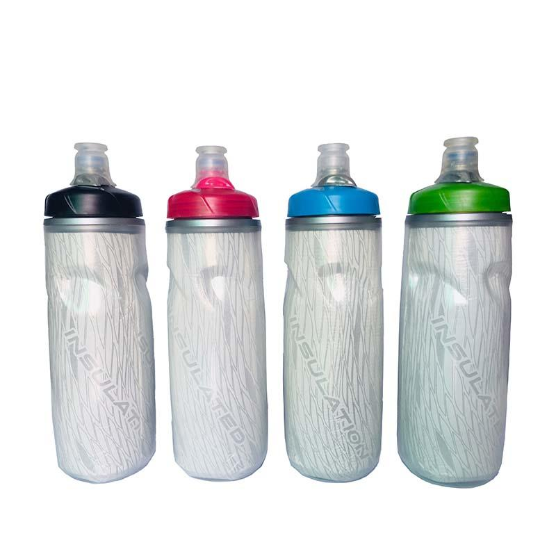 ODM Insulated Sports Bottle Double-Layer Cycling Mountain Bike 620ml   BPA-free
