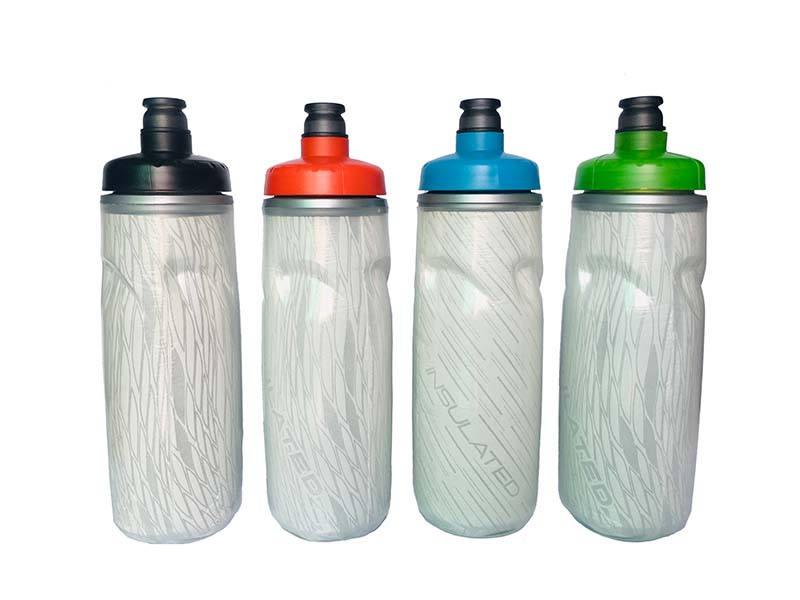 Yinxin Plastic-Insulated Sports Bottle, Double-layer Sports Water Bottle Outdoor Use