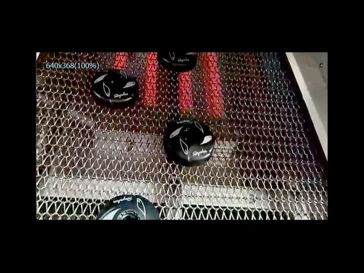Cap printing technology